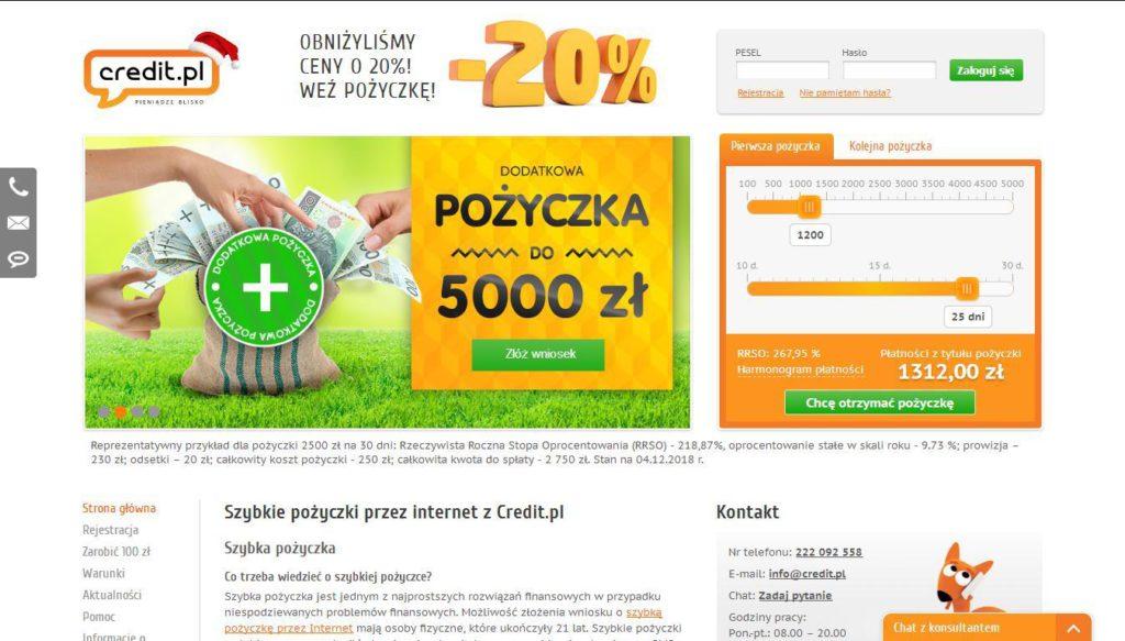Strona Credit.pl